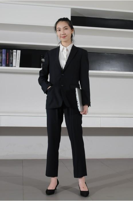 BD-MO-081  度身訂造職業西裝 模特展示 訂造時尚舒適女西裝 西裝專門店