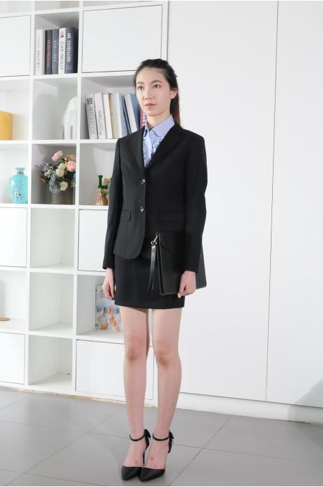 BD-MO-083 網上訂購職業女西裝 模特展示 訂造修身時尚女西裝 西裝供應商