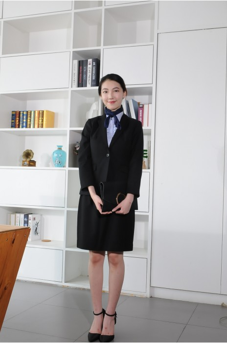 BD-MO-087 訂造職業女西裝 模特展示 商業通勤女西裝 西裝製造商