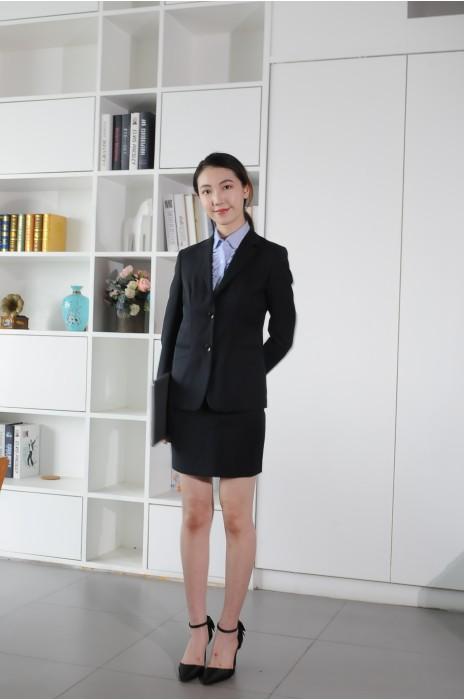 BD-MO-088 訂做職業女西裝 模特展示 通勤商務西裝 辦公女西裝專門店