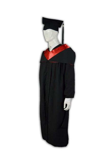 DA007 度身訂做學士服  畢業製服帽設計  副學士袍 訂造大學校服樣式 學業袍專門店