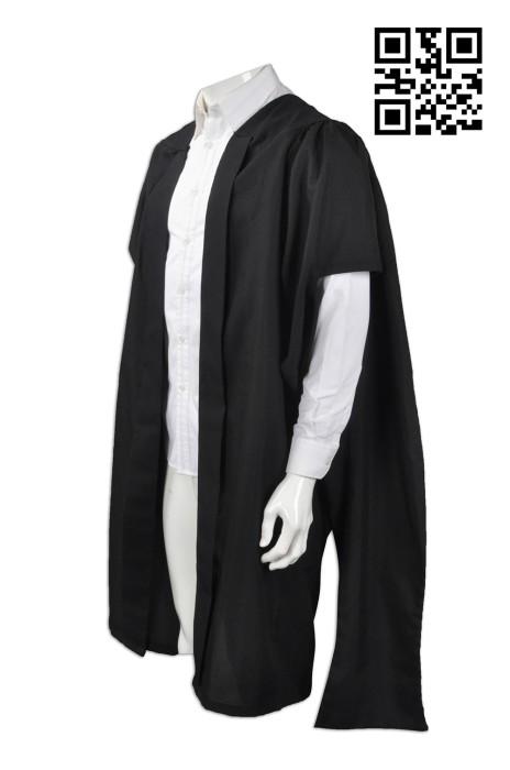 DA020 設計度身畢業袍   訂做大學生畢業袍   大學教職員禮袍 教授袍 訂製畢業袍  畢業袍制服公司
