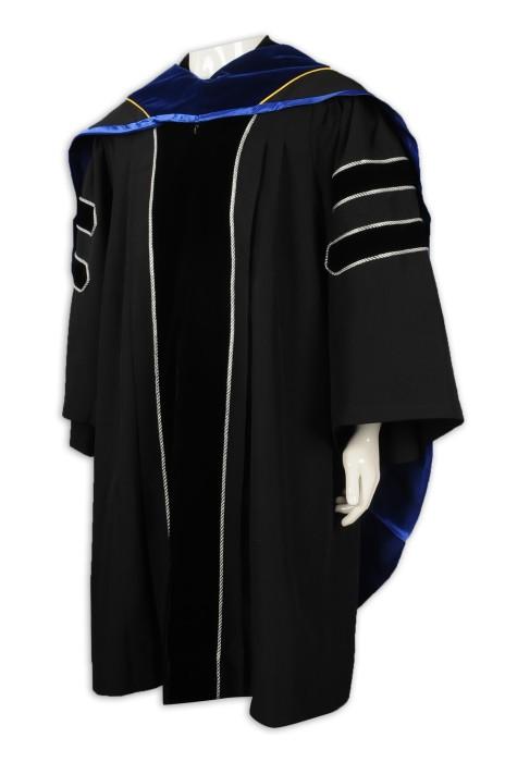 DA119 訂做大學畢業袍 博士袍 碩士袍 畢業袍供應商