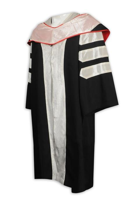 DA120  設計大學畢業博士袍  文憑袍 訂購學士袍 畢業袍hk中心