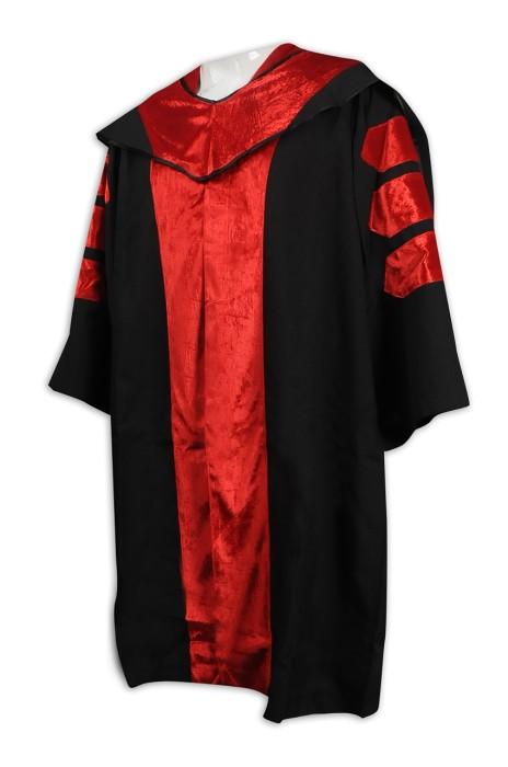DA124 設計大學畢業袍 網上下單學士袍  畢業禮服製造商