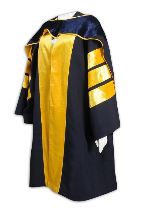 DA125 訂購學士袍 絨布 設計博士袍  畢業袍專門店