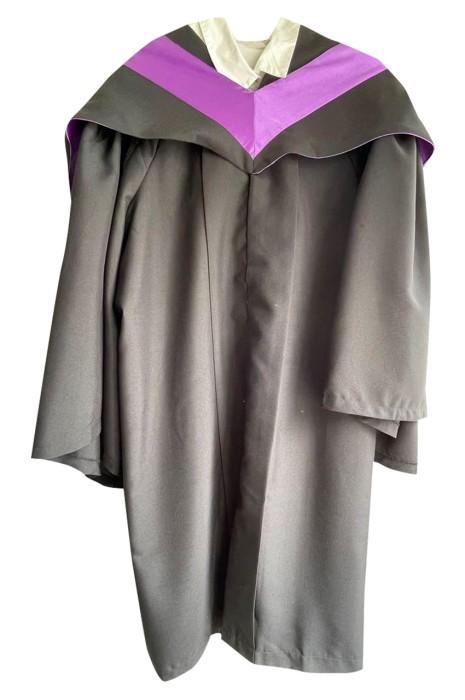 訂製畢業袍   恆生大學畢業袍    制服呢 畢業袍製造商  榮譽生袍  DA130