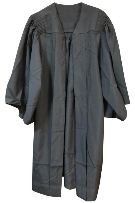 訂購個人設計畢業袍款式    浸會學校畢業袍    撞色披巾   DA131