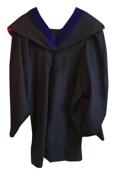 自家設計大學畢業袍    團體訂購畢業袍    自訂畢業袍製造商  學士袍   嶺南大學  DA134