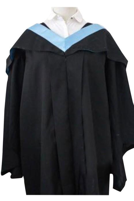 團體訂購大學畢業袍    設計撞色披巾帶   香港教育大學   DA135
