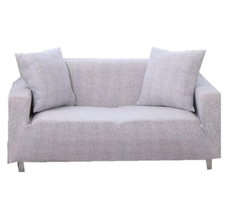 CAS003 設計彈力沙發套款式  訂造歐式沙發套款式   家居布藝 沙發罩   製作純色沙發套款式  沙發套生產商 米白
