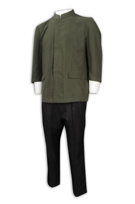 CL032 訂製男清潔服制服 清潔 保健制服 清潔服供應商