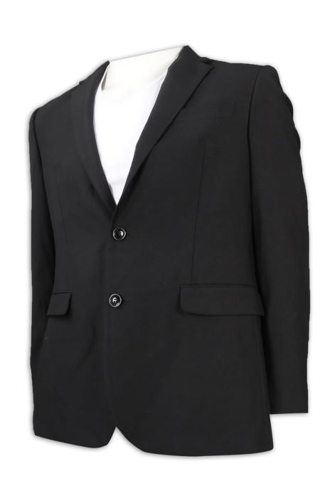 BS368 訂製男款西裝外套 寬鬆 袖口 波浪  西裝外套生產商