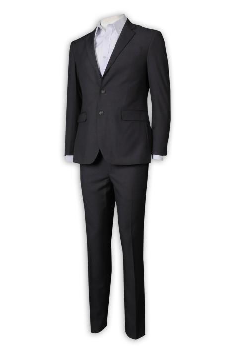 BS369 團體訂做西裝套裝  西裝布300g TC133*72 大眾汽車 西裝套裝專營店