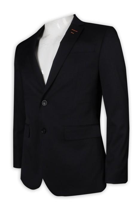 BS370 來樣訂做男西裝 暗袋 2粒鈕 西裝專門店