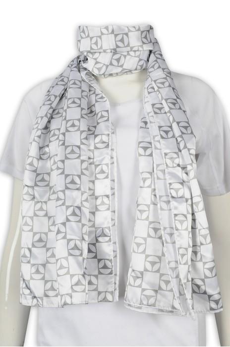 Scarf056 設計印花圍巾 時尚圍巾 圍巾製造商