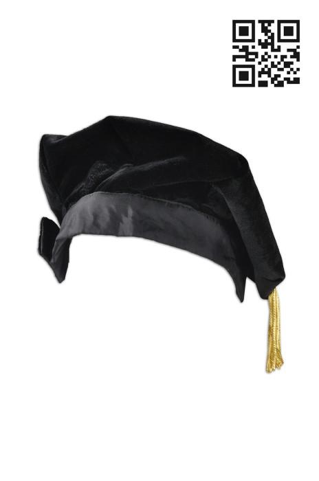 GGC07 訂做畢業帽款式   設計六角帽畢業帽款式   訂製畢業帽  院士帽 畢業帽生產商