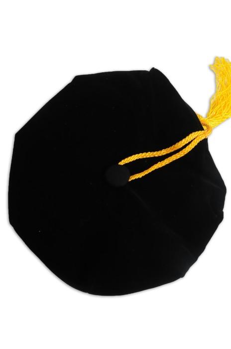 GGC014 設計博士畢業帽 六角帽 八角帽 博士帽 碩士帽 畢業帽製造商