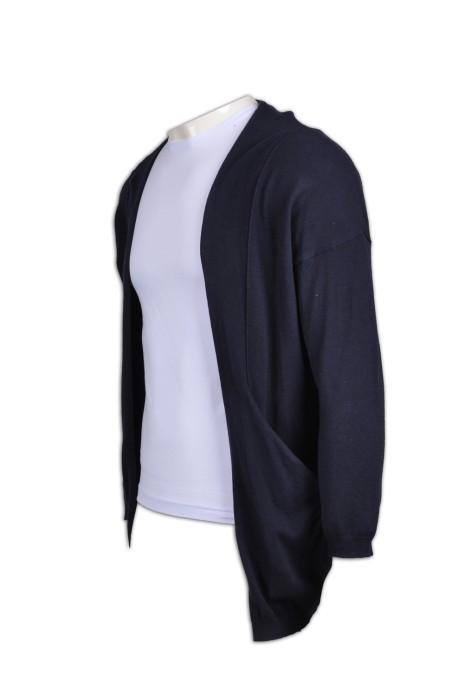 CAR016 男裝開胸冷外套 來款訂製 時尚保暖冷外套 冷外套造型選擇 冷外套專門店