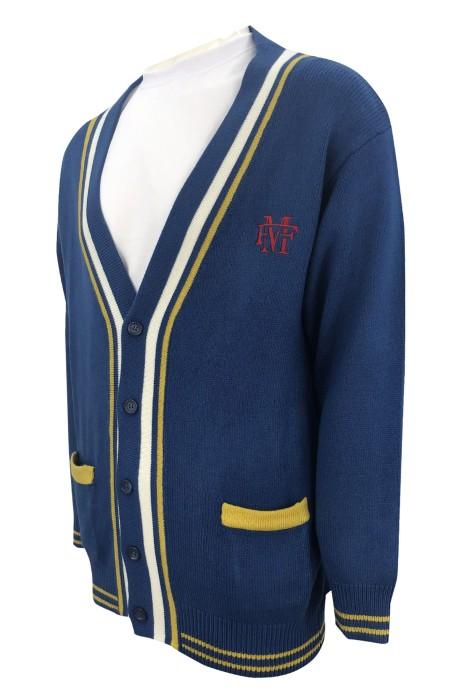 JUM058  自製舒適毛衫款式    訂做LOGO毛衫款式   繡花logo  設計毛衫款式   毛衫廠房  100%滌綸