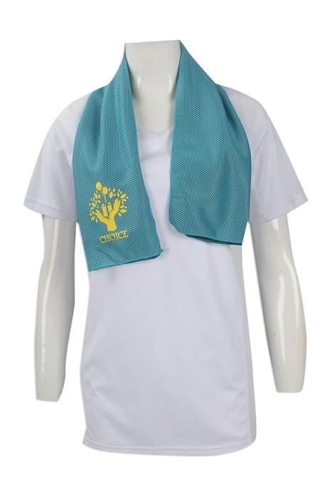 A181 訂做冰涼毛巾 印製運動吸汗毛巾款式 冰巾 製作印花LOGO冰涼毛巾批發商