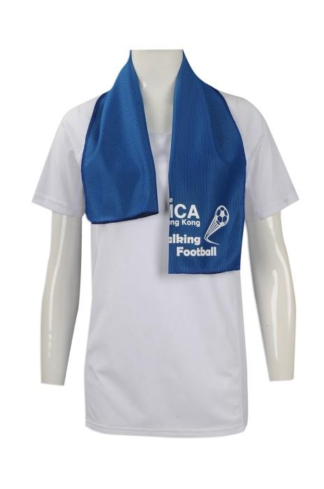 A184 來樣訂做毛巾 製作戶外運動吸汗毛巾款式  足球訓練計劃 訂印吸濕吸汗毛巾製作公司 冰巾