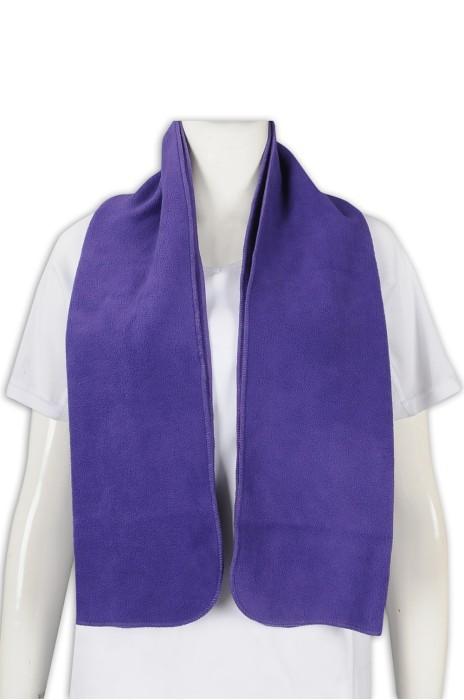 A194 訂製淨色毛巾 搖粒絨毛巾 100%滌 毛巾生產商