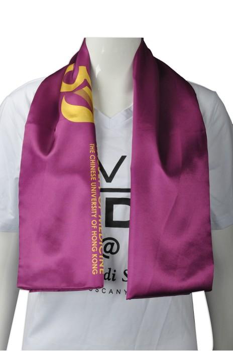 SF021 度身訂造絲巾款式   設計真絲絲巾款式  大學週年活動 紀念絲巾 頸巾  自訂女裝絲巾款式   絲巾專門店