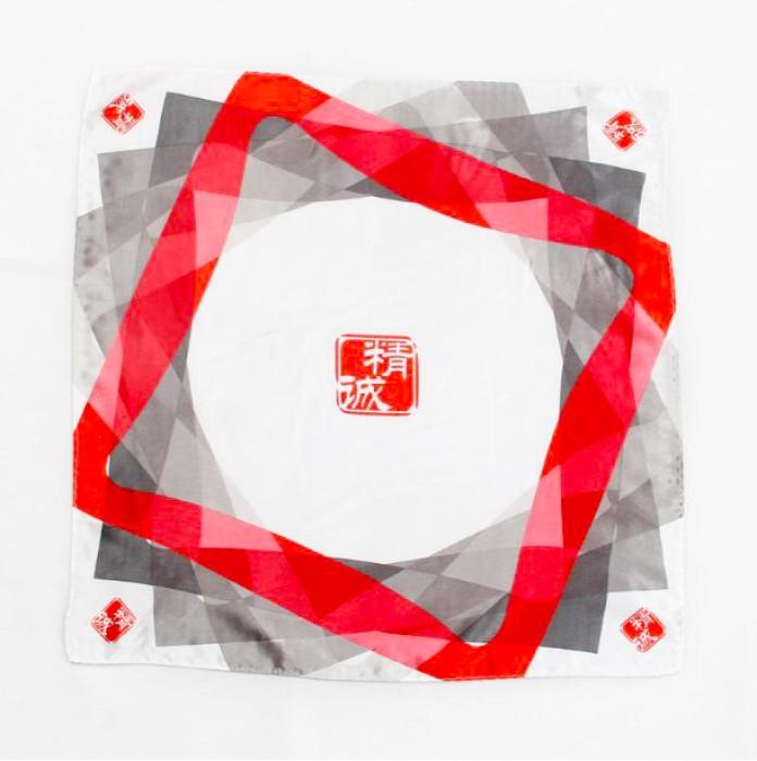 SF033 訂做企業絲巾款式   職業絲巾   絲巾專營