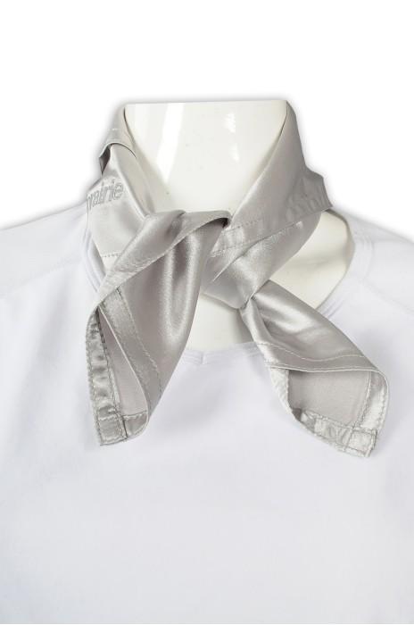 SF035 訂做職業絲巾 仿真絲 絲巾供應商