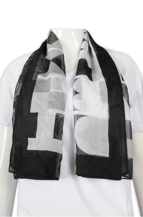 SF036 設計職業絲巾 圖案絲巾 絲巾製造商