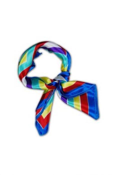 SF-0012 訂製團體制服絲巾 專營絲巾訂造 女裝絲巾款式 批發 絲巾