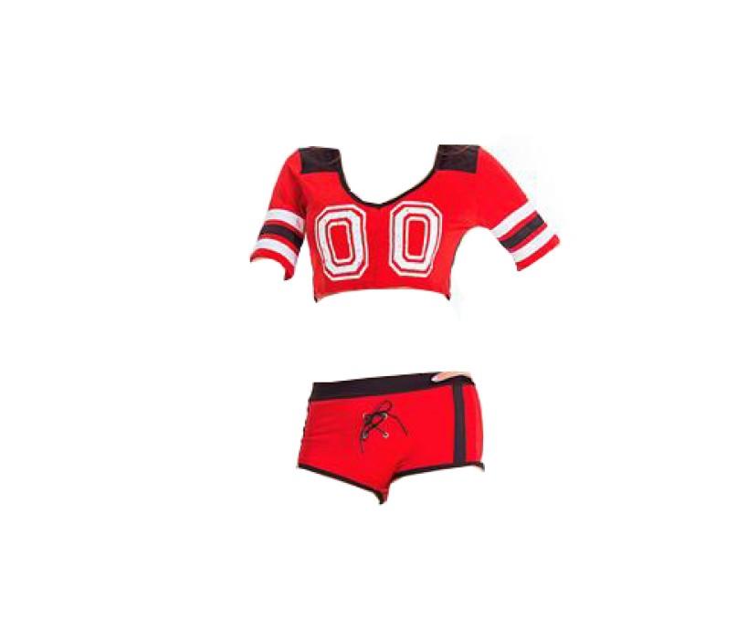 SKCU017 製作性感啦啦隊服款式   自訂足球寶貝啦啦隊服款式   訂做啦啦隊服款式   啦啦隊服廠房