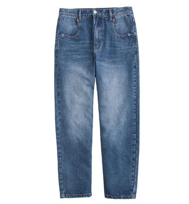 JS003 訂做牛仔褲款式   製作寬鬆牛仔褲款式   九分褲  自訂休閒牛仔褲款式   牛仔褲廠房
