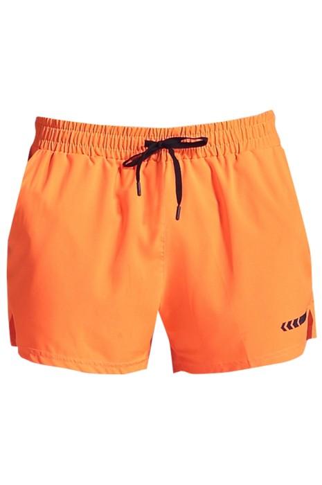 SKSP009 訂製運動短褲  馬拉松 田徑 騎行 健身訓練  速乾 設計雙層三分防走光運動短褲   運動短褲供應商