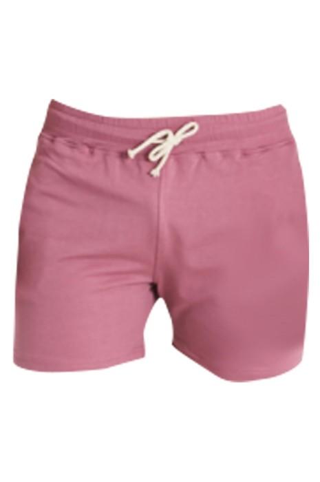 SKSP013 訂做超短運動短褲 時尚設計修身三分運動短褲  淨色 運動短褲供應商