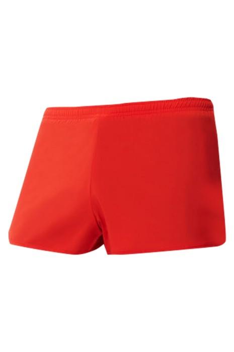 SKSP014  大量訂製運動短褲 速乾 透氣 設計雙層防走光運動短褲  拉鏈後袋口  馬拉松 訓練 跑步 健身 運動短褲供應商