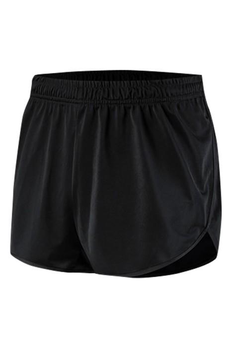 SKSP017 訂製男女款運動款 田徑 運動健身 馬拉松 拳擊訓練 運動短褲  速乾 透氣 排汗 後側拉鏈袋口 運動短褲供應商