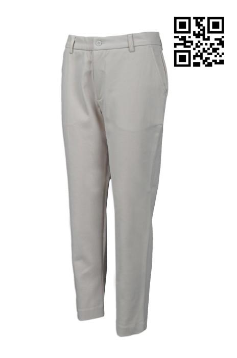 WMT001 製造女裝西褲款式   訂做西褲款式   設計西褲款式   西褲生產商 淺灰色