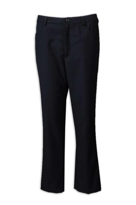 WMT009 訂做女西褲 黑色西褲 休閒修身褲 海事管理 西裝布 女西褲生產商 黑色