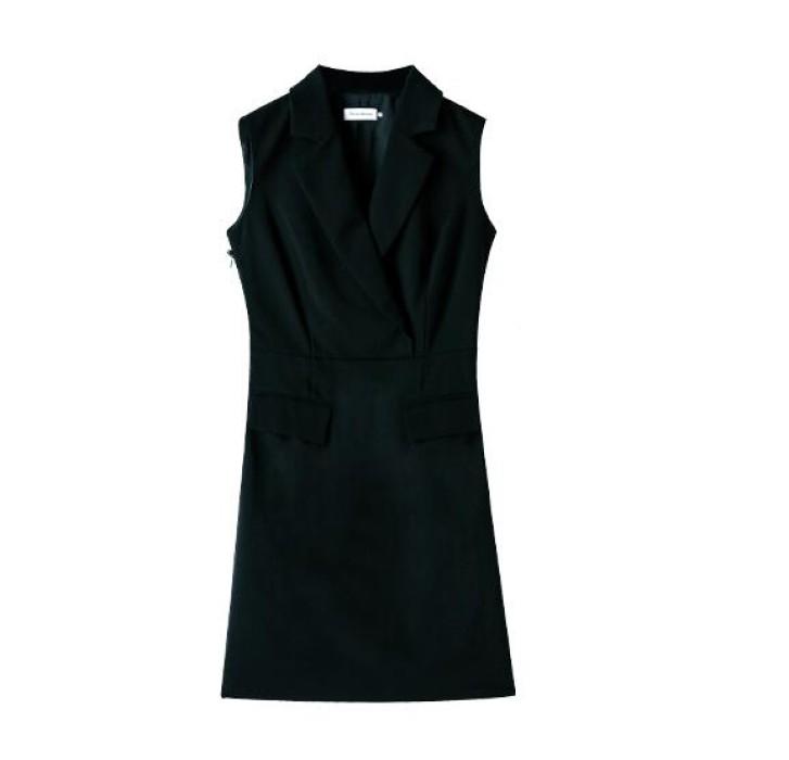 SKPD005 自訂時尚職業連身裙款式   製造修身職業連身裙款式   訂做西裝職業連身裙款式    職業連身裙工廠