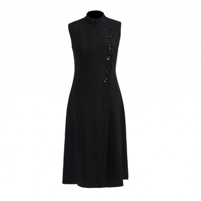 SKPD006 訂做OL職業連身裙款式    自訂修身職業連身裙款式   A字裙   製造A字裙職業連身裙款式   職業連身裙專門店