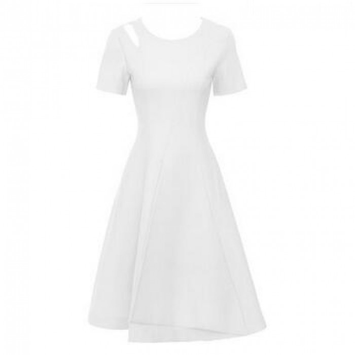 SKPD011 設計修身職業連身裙款式   製作A字小禮服連身裙款式    自訂短袖職業連身裙款式  職業連身裙中心
