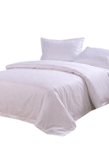 SKBD007  製作酒店床上用品 賓館四件套 來樣訂造酒店布草  床套 被套 網上下單床上用品  120cm 150cm 180cm 200cm