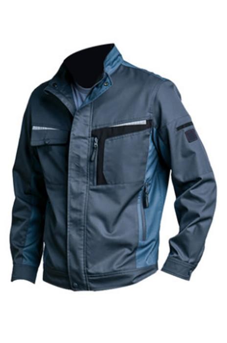 SKWK028  春秋長袖工作服 訂購防靜電夾克 網上下單工作服 工作服製衣廠