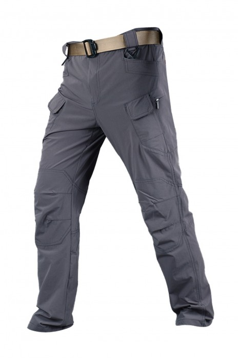 SKWK047 訂購保安多袋褲  設計戰術褲 耐磨 速乾 加粗腰帶扣  前腰膠扣 前腰鎖匙扣位 腰包掛扣 對講機掛扣 保安褲製造商