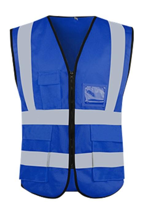 SKWK052 網上訂購反光馬甲工作服 設計反光條工作服 工作服中心