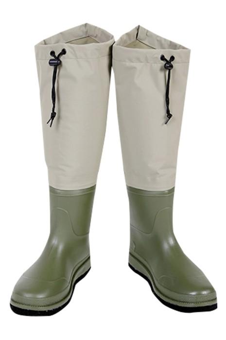 SKWK060  製造涉水靴  設計舒服透氣防水涉水靴  涉水鞋中心  橡膠鞋底 毛氈鞋底 毛氈鋼釘鞋底