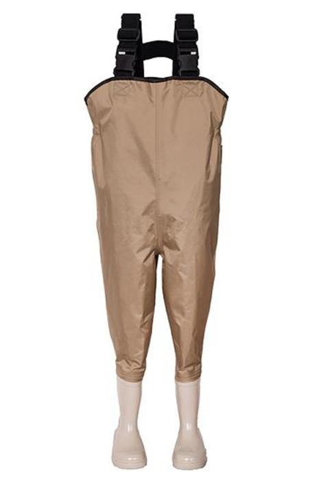 SKWK062 大量供應兒童涉水褲  設計親子遊捉魚防水連體涉水褲  涉水褲生產商