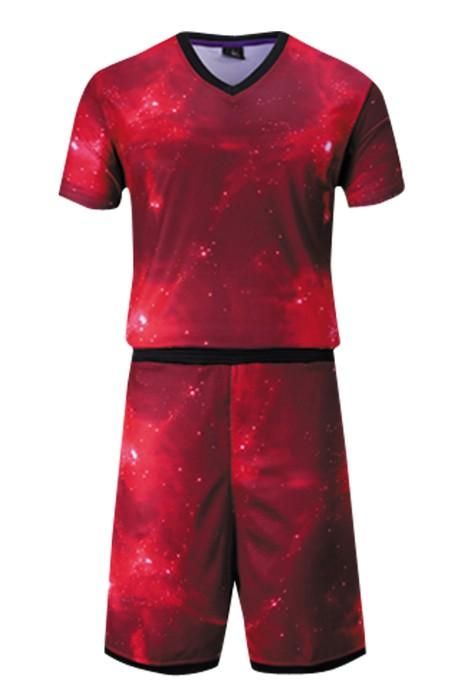 SKWTV035 製作迷彩籃球服 訓練籃球隊衫 波衫供應商